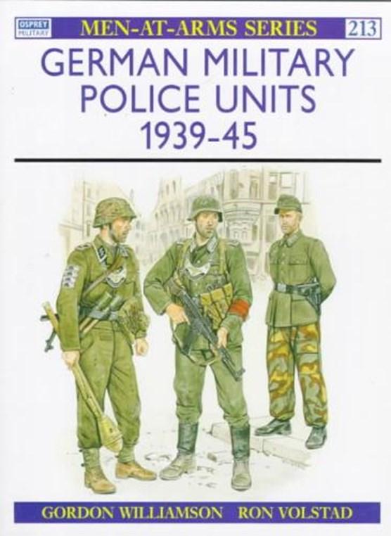 German Military Police Units