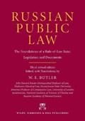 Russian Public Law | William E. Butler |