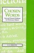 Chosen Words   N. E. Osselton  
