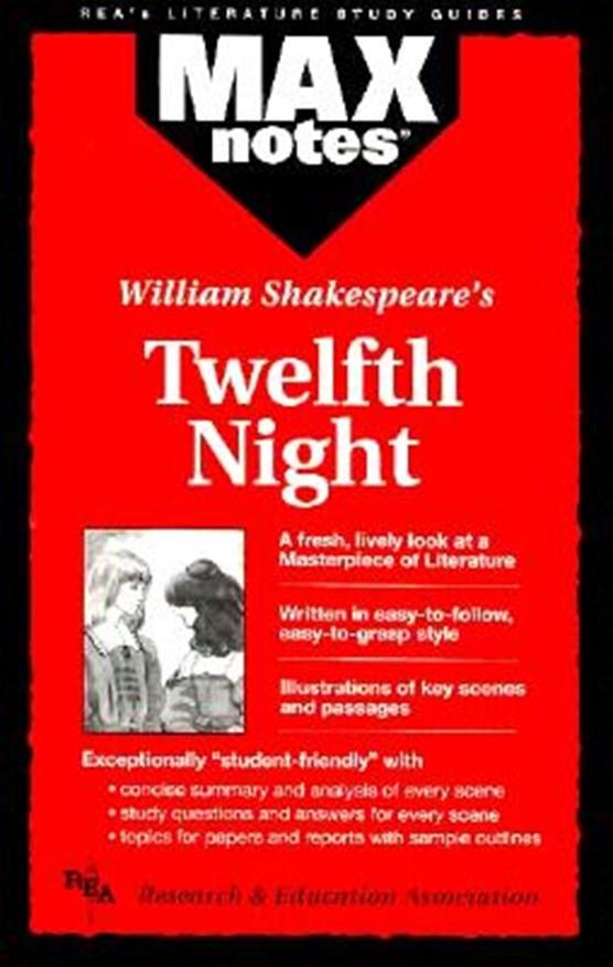 MAXnotes Literature Guides: Twelfth Night