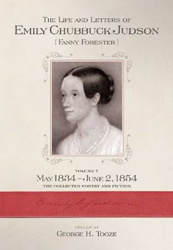 The Life and Letters of Emily Chubbuck Judson