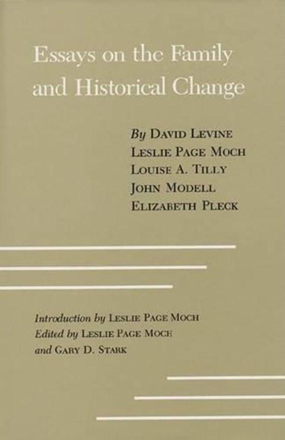 Essays Family/Hist Change #17