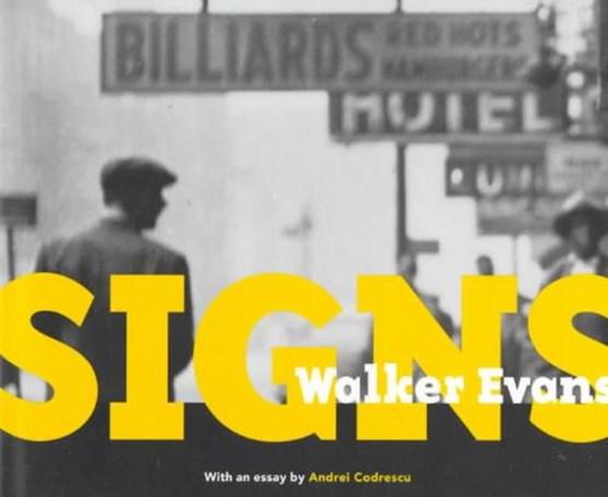 Walker Evans - Signs