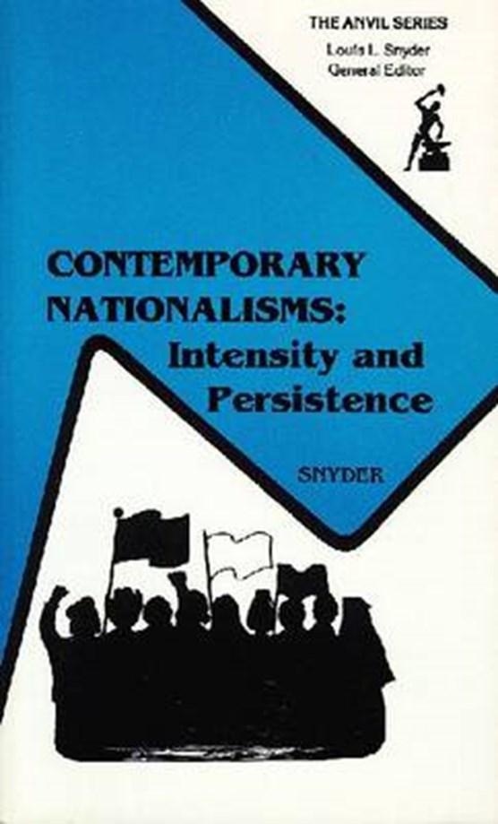 Contemporary Nationalisms