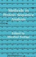 Methods in Protein Sequence Analysis   Marshall Elzinga  