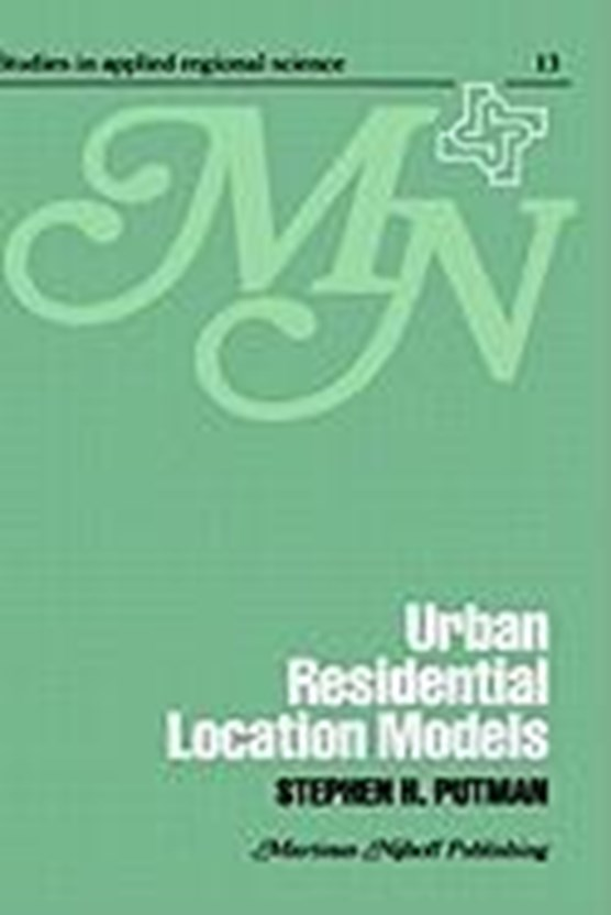 Urban residential location models