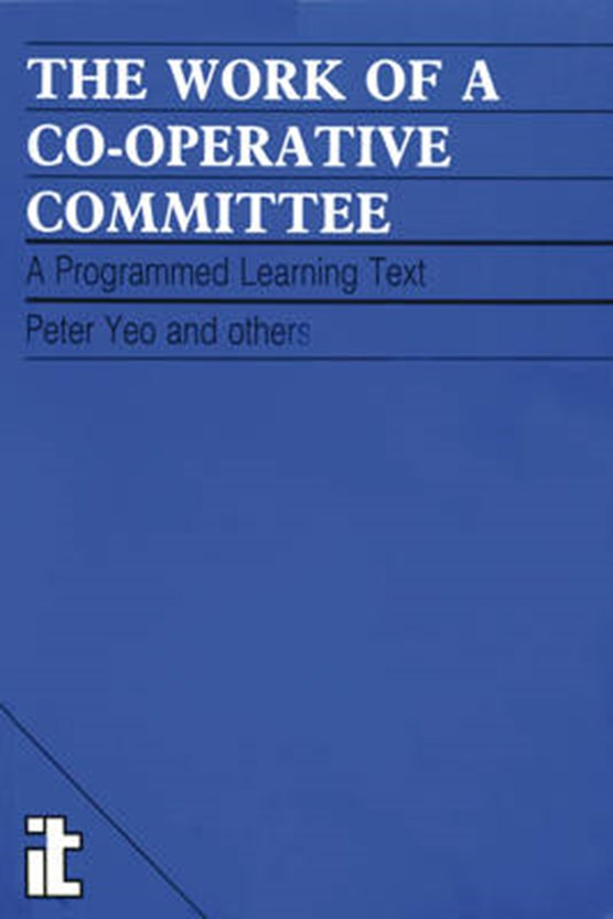 Work of a Co-operative Committee