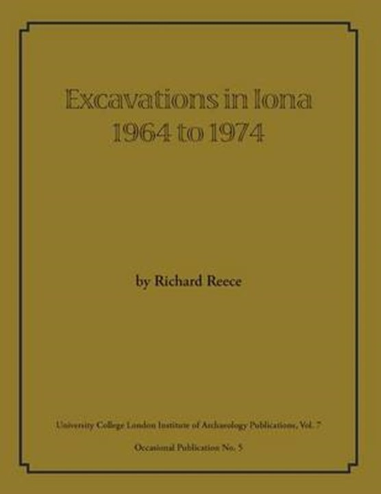 Excavations in Iona 1964 to 1974