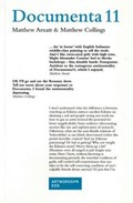 Documenta II | Matthew Arnatt ; Matthew Collings |
