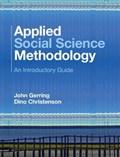 Applied Social Science Methodology | Gerring, John (university of Texas, Austin) ; Christenson, Dino (boston University) |