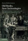 Old Books, New Technologies | David (university of Cambridge) McKitterick |
