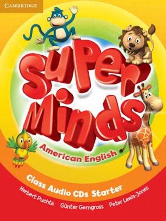 Super Minds American English Starter Class Audio CDs (2)
