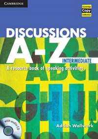 Discussions A-Z Intermediate Book and Audio CD | Adrian Wallwork |