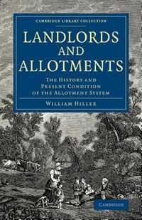 Landlords and Allotments | William Hillier Onslow |