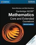 Cambridge IGCSE (R) Mathematics Core and Extended Coursebook | Morrison, Karen ; Hamshaw, Nick |