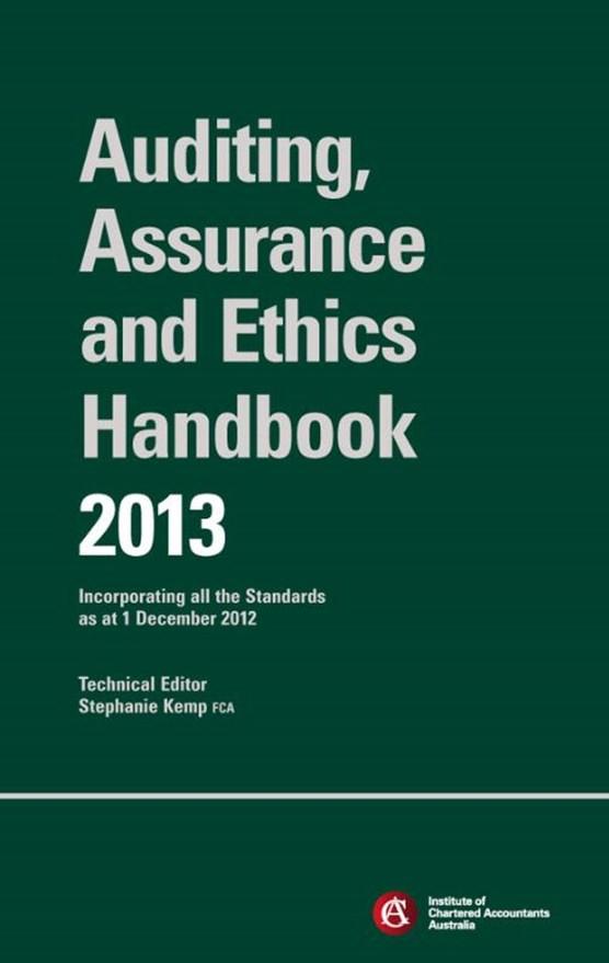 Chartered Accountants Auditing & Assurance Handbook 2013 + Wiley E-Text