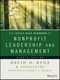 The Jossey-Bass Handbook of Nonprofit Leadership and Management   David O. Renz  