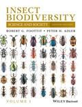Insect Biodiversity | Robert G. Foottit ; Peter H. Adler |