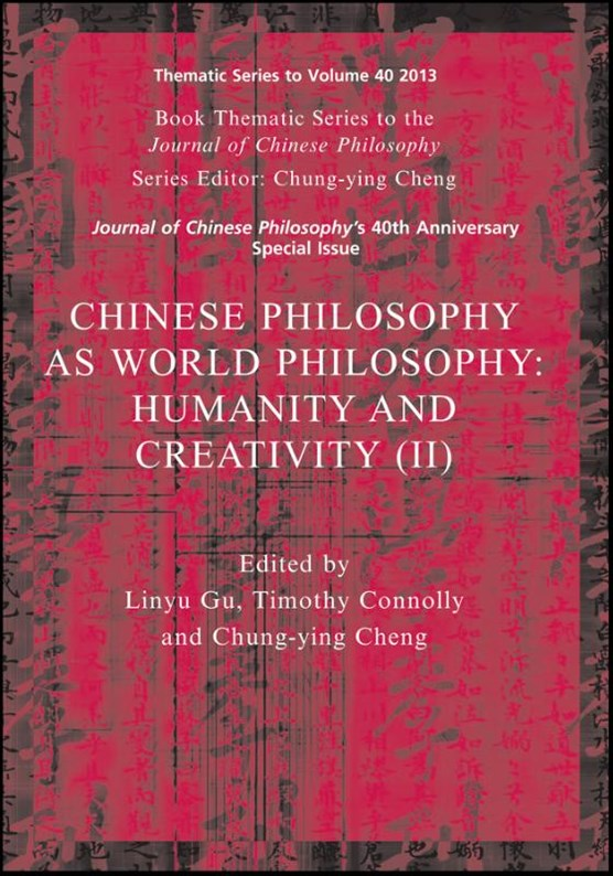 Chinese Philosophy as World Philosophy