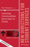 Learning Communities from Start to Finish   Mimi Benjamin  