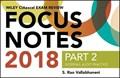 Wiley CIAexcel Exam Review 2018 Focus Notes, Part 2   S. Rao Vallabhaneni  