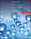 Contemporary Strategy Analysis | Robert M. Grant |