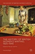 The History of British Women's Writing, 1920-1945   Maroula Joannou  
