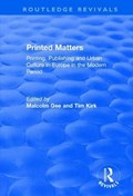 Printed Matters | Gee, Malcolm ; Kirk, Tim |