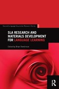 SLA Research and Materials Development for Language Learning   Brian (leeds Metropolitan University) Tomlinson  