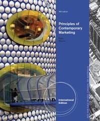 Contemporary Marketing, International Edition   Louis (university of South Alabama) Boone ; David (university of Arkansas) Kurtz  