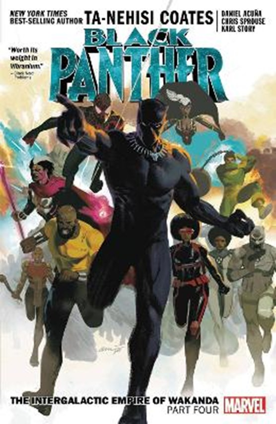 Black panther (09): the intergalactic empire of wakanda part 4