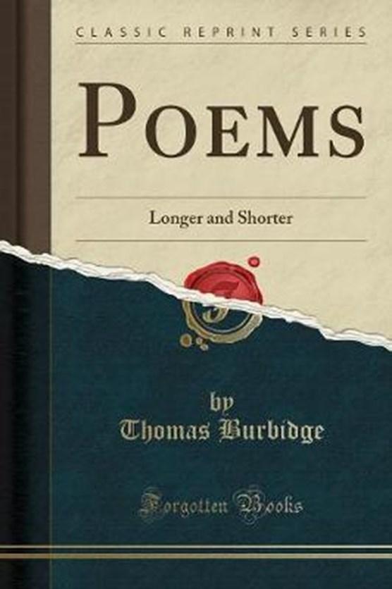 Burbidge, T: Poems