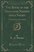Burton, R: Book of the Thousand Nights and a Night, Vol. 6 o | R. F. Burton |