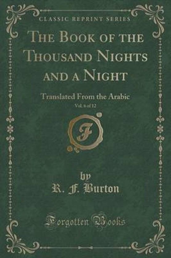 Burton, R: Book of the Thousand Nights and a Night, Vol. 6 o