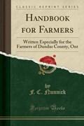 Nunnick, F: Handbook for Farmers | F. C. Nunnick |