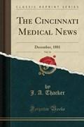 Thacker, J: Cincinnati Medical News, Vol. 14 | J. A. Thacker |