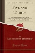 University, P: Five and Thirty | Pennsylvania University |