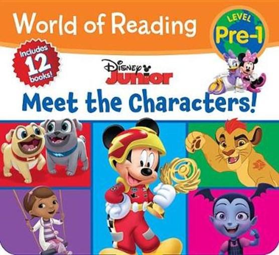 WORLD OF READING DISNEY JUNIOR MEET THE