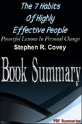 The 7 Habits Of Highly Effective People (Book Summary)   Pdf Summaries  