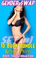Gender Swap 10 Book Bundle Set #1   Kinky Press  