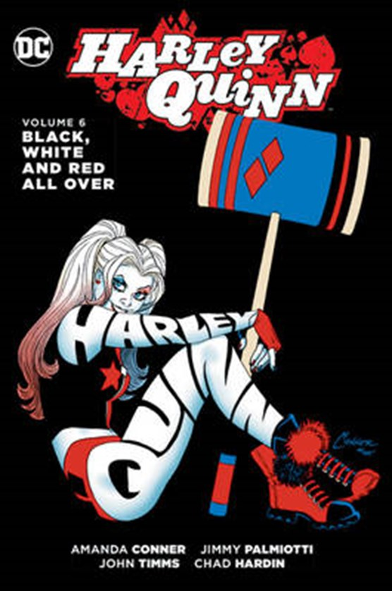 Harley quinn (06): black, white and red all over
