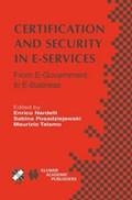 Certification and Security in E-Services   Enrico Nardelli ; Sabina Posadziejewski ; Maurizio Talamo  