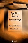 Applied Social Psychology | Brewer, Marilynn B. ; Hewstone, Miles |