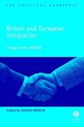 Britain and European Integration   Anand Menon  