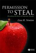 Permission to Steal   Lisa H. Newton  