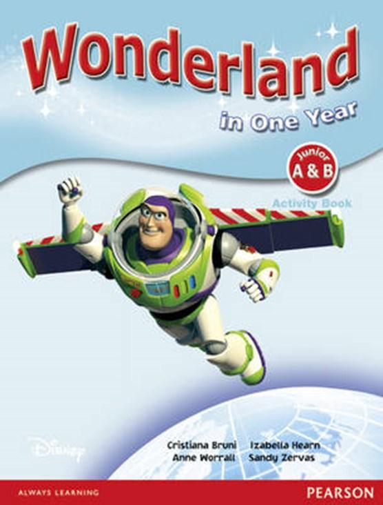 Wonderland in One Year Activity Book