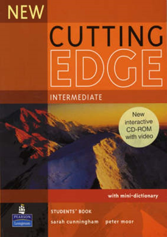 New Cutting Edge Intermediate Students Book and CD-Rom Pack