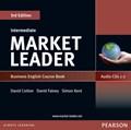 Market Leader 3rd edition Intermediate Coursebook Audio CD (2)   David Cotton ; David Falvey ; Simon Kent  