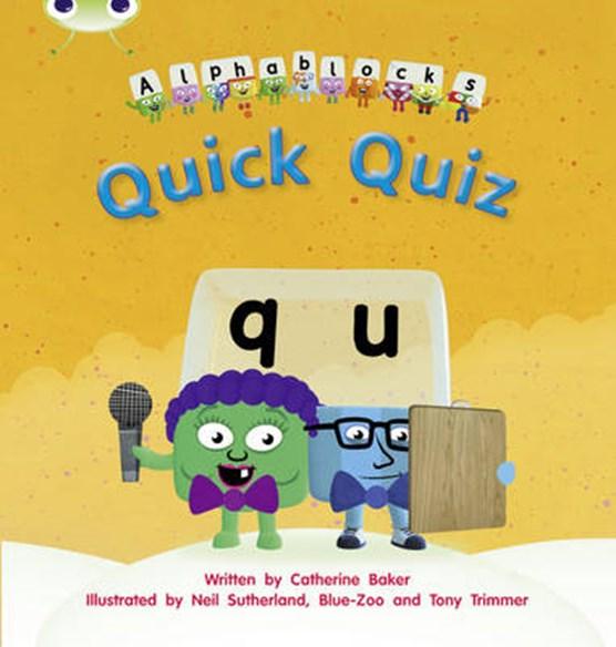 Bug Club Phonics Fiction Reception Phase 3 Set 07 Alphablocks Quick Quiz