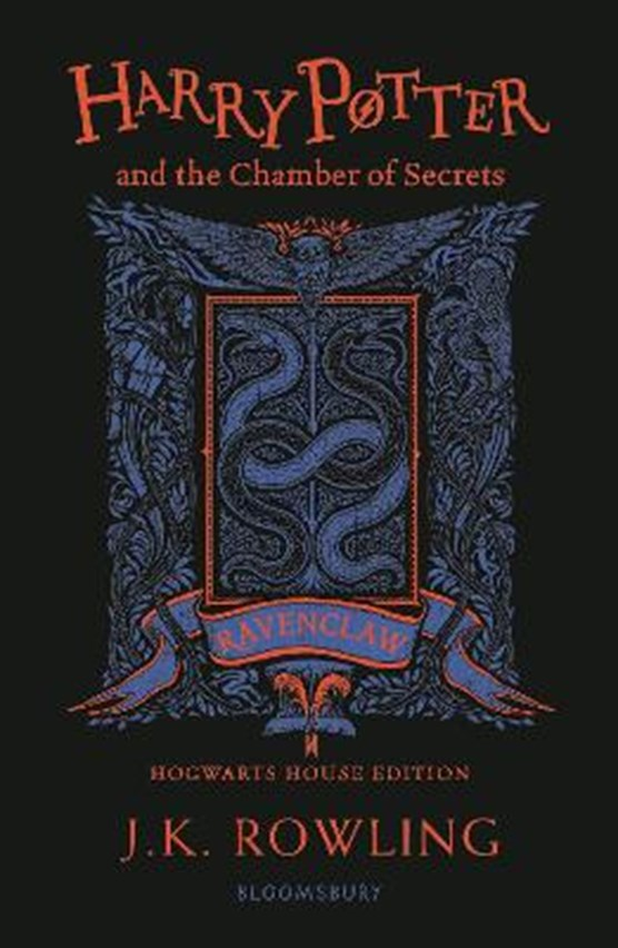 Harry potter (02): harry potter and the chamber of secrets - ravenclaw edition